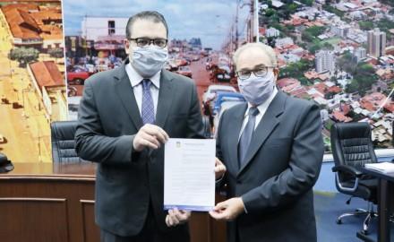 Câmara de Dourados promulga Lei de Idenor Machado - Crédito: Assessoria