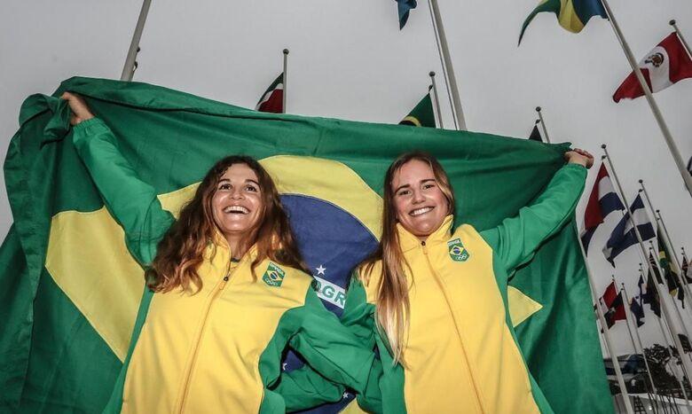 Campeãs olímpicas, Martine e Kahena já treinam em Portugal - Crédito: Wander Roberto/COB