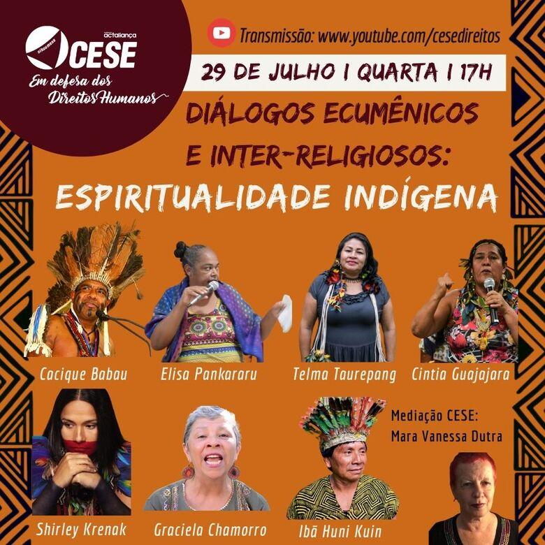 """Live """"Diálogos Ecumênicos e Inter-religiosos"""" -"""
