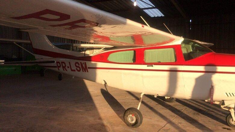 PF apreende 23 aviões usados por traficantes na fronteira de MS - Crédito: Divulgação