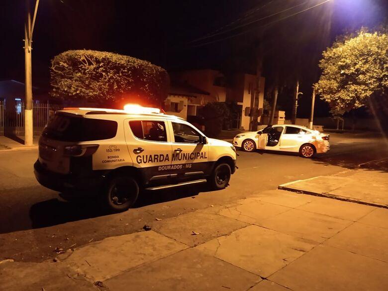 Autores de furto de veículo são presos pela GM - Crédito: Divulgação
