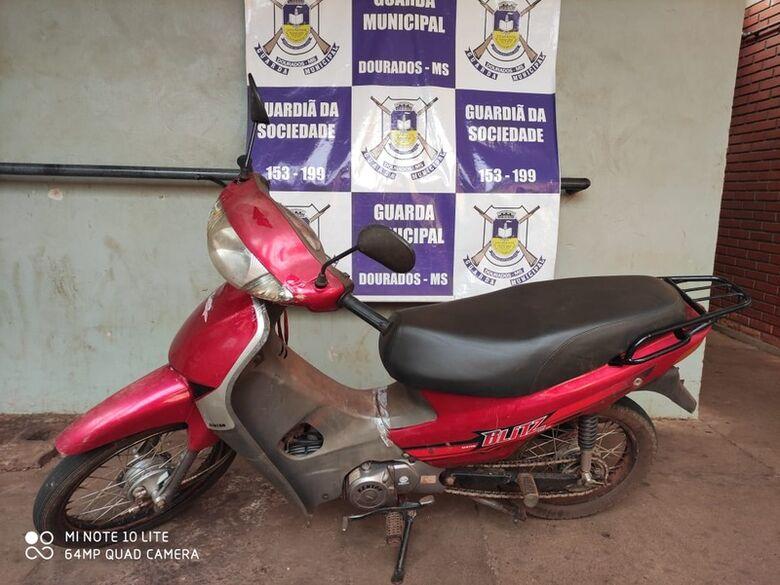 Guarda Municipal recupera veículo furtado - Crédito: Divulgação