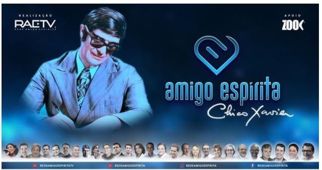Megaevento on-line homenageia Chico Xavier pelos 110 anos de nascimento -