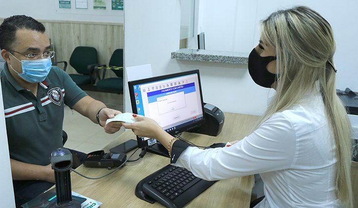 Detran-MS lança sistema para pagamento de guias por cartão de débito - Crédito: Edemir Rodrigues