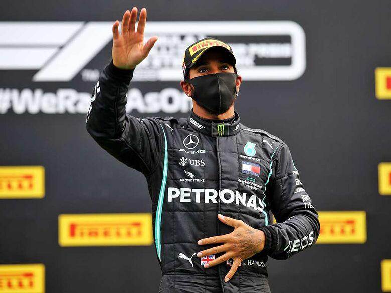 Hamilton lidera de ponta a ponta e vence o GP da Bélgica - Crédito: Divulgação