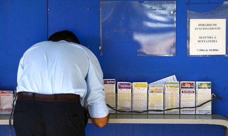 Super 7 é o novo modelo de apostas das Loterias da Caixa - Crédito: Marcelo Camargo/Agência Brasil