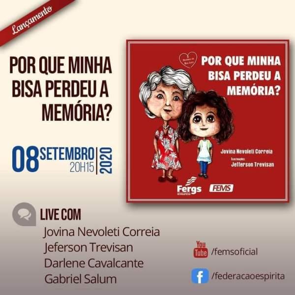 Escritora Jovina Nevoleti lança livro infantil através de live nesta terça - Crédito: Divulgação