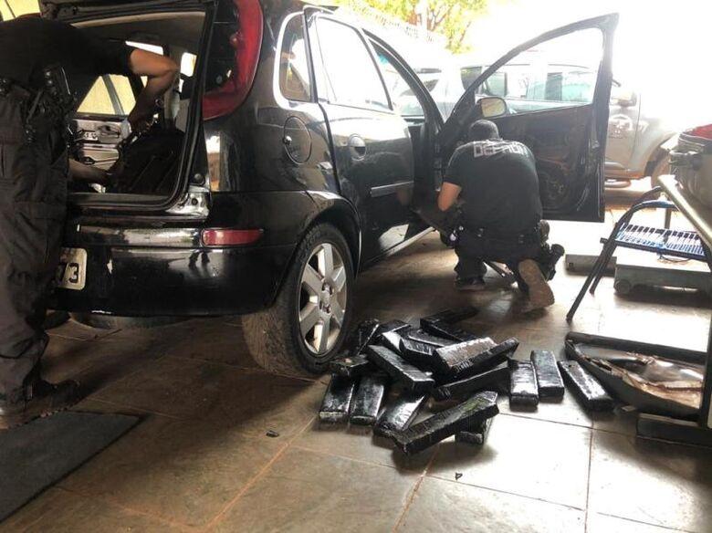 De acordo com a Defron, o acusado disse que estava em regime semiaberto - Crédito: Fotos: Divulgação/Defron