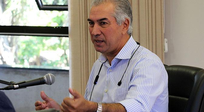 Governador Reinaldo Azambuja testa positivo para Covid-19 -
