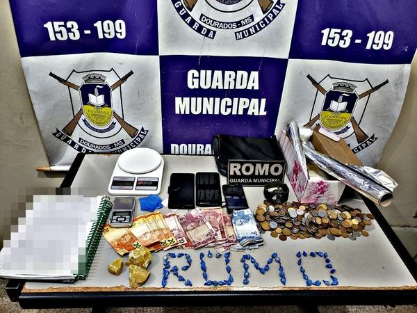 Guarda Municipal fecha 'boca de fumo' no João Paulo II - Crédito: Divulgação