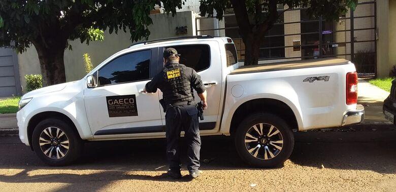 Gaeco realiza operação e alvo é empresário que tem contrato com prefeitura - Crédito: Cido Costa