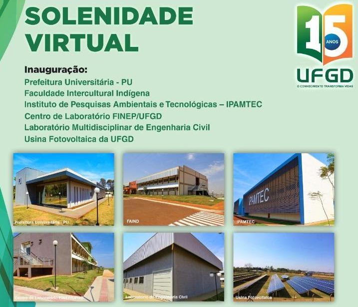 UFGD inaugura seis novos prédios avaliados em R$ 23 milhões -