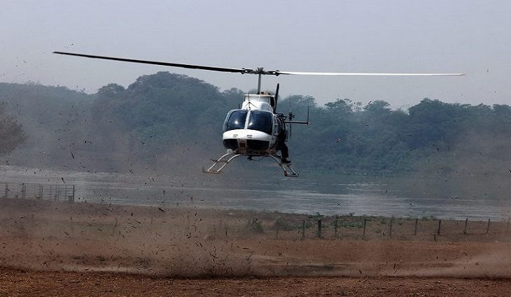 Com controle do fogo no Amolar, combate aos focos ocorre na fronteira com a Bolívia - Crédito: Sílvio de Andrade