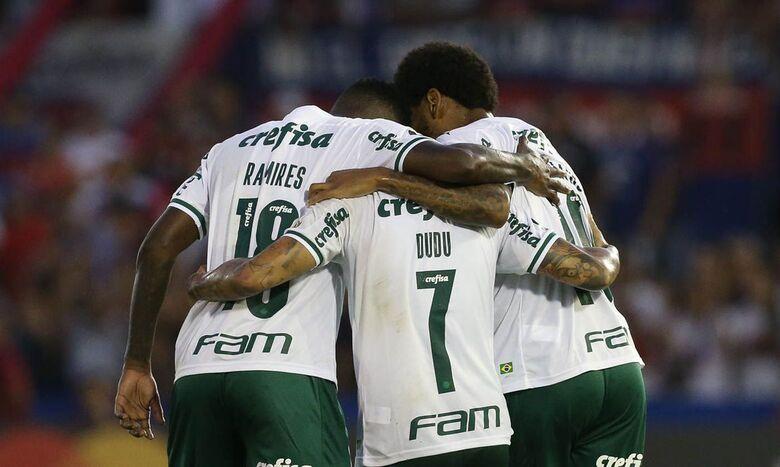 Palmeiras e dupla Gre-Nal voltam a campo pela Libertadores - Crédito: Cesar Greco/Palmeiras