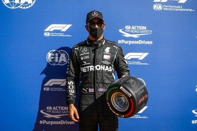 Lewis Hamilton F1 pole Monza GP esportes piloto Fórmula 1 - Crédito: F1