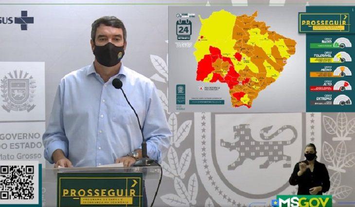 Governo de Mato Grosso do Sul atualiza bandeiras dos municípios -
