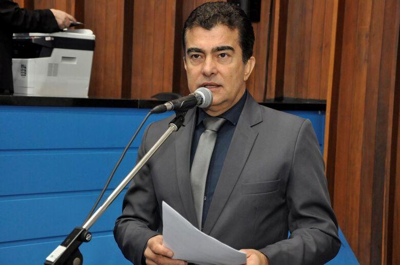 Deputado estadual Marçal Filho é o autor do Projeto de Lei - Crédito: Arquivo