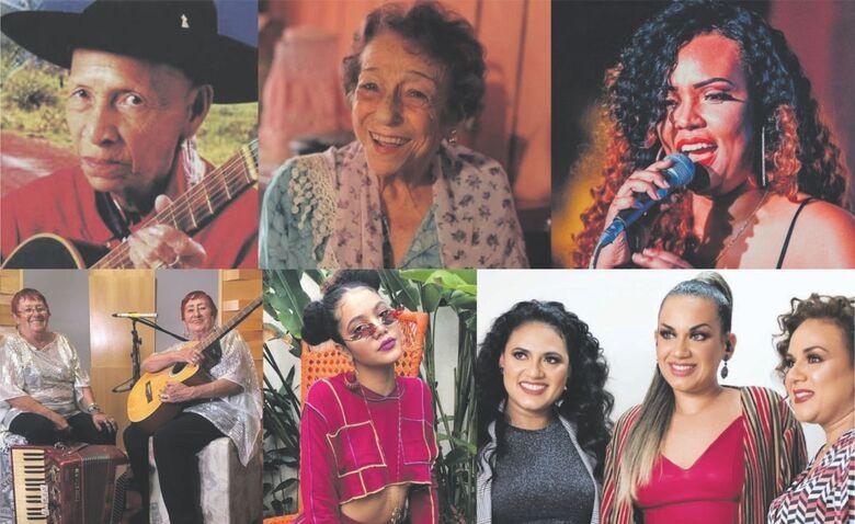 Exposição online traz Mulheres da Música de Mato Grosso do Sul - Crédito: Divulgação
