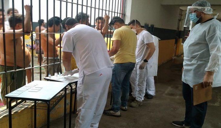 Médicos sem Fronteiras reforça ações de combate à Covid-19 em presídio de Corumbá - Crédito: Agepen