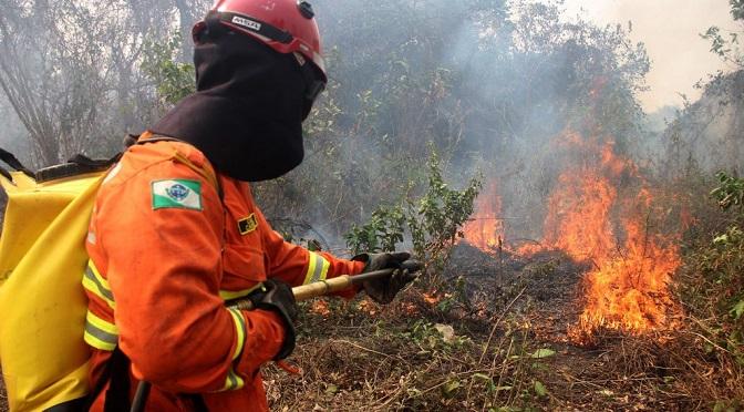Convênio garante mais R$ 1,351 milhão para ações de combate a incêndios em MS - Crédito: Foto: Sílvio de Andrade