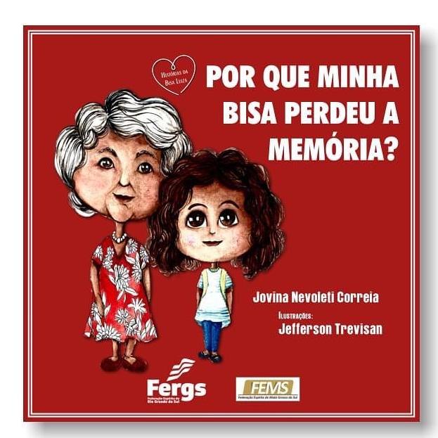 Obra de Jovina Nevoleti aborda doença de Alzheimer - Crédito: Divulgação