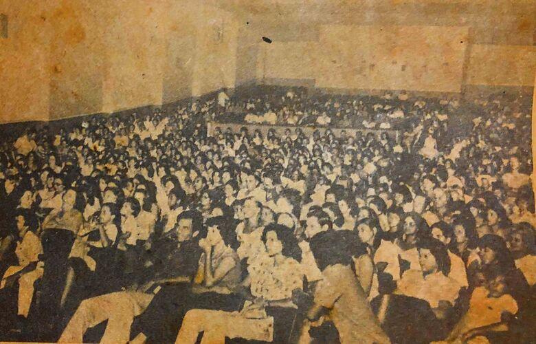 Cine Ouro Verde também sediou shows e festivais - Crédito: Divulgação