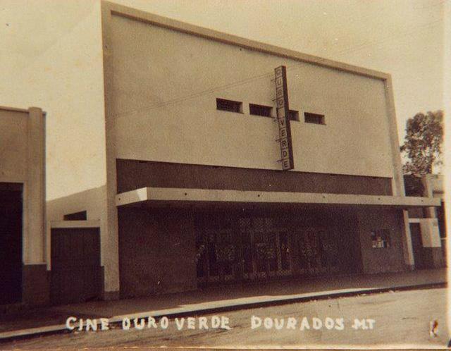 Cine Ouro Verde também sediou shows e festivais -