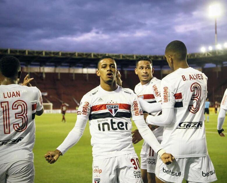 Na estreia da Sul-Americana, Tricolor sai na frente, mas leva virada - Crédito: Divulgação SPFC