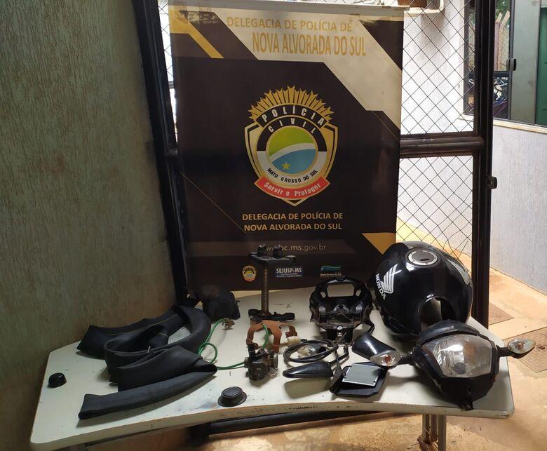 Polícia civil prende suspeitos e recupera peças furtadas do Detran de Nova Alvorada do Sul -