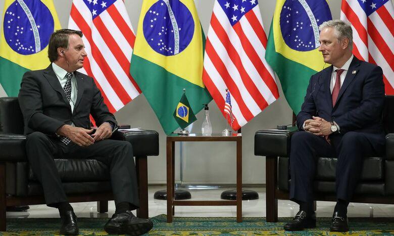 Brasil e banco americano assinam acordo de US$ 1 bi em investimentos - Crédito: Marcos Corrêa/PR