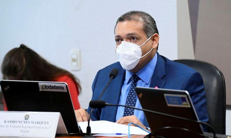 Em sabatina, Kassio Nunes responde a perguntas sobre armas e Lava Jato - Crédito: Marcos Oliveira/Agência Senado