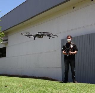 Drones serão usados para combater crimes eleitorais -