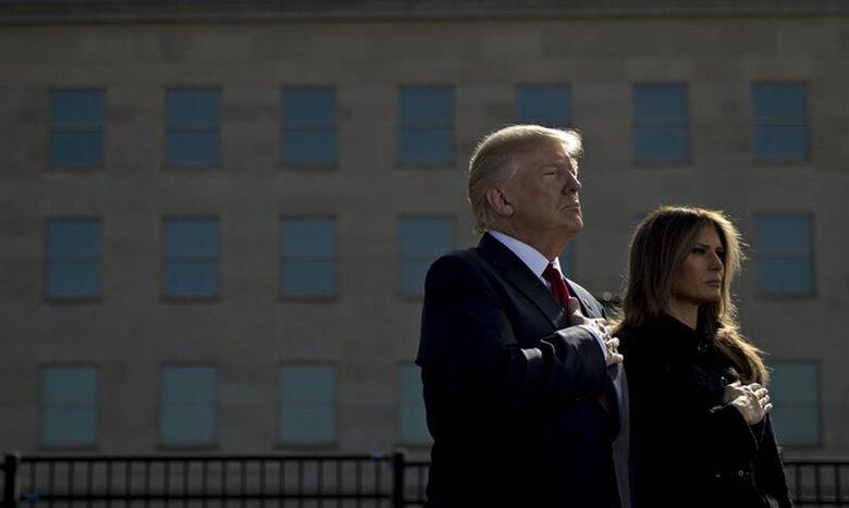 EUA: presidente e primeira-dama têm teste positivo para covid-19 - Crédito: Andrew Harrer / POOL/EFE