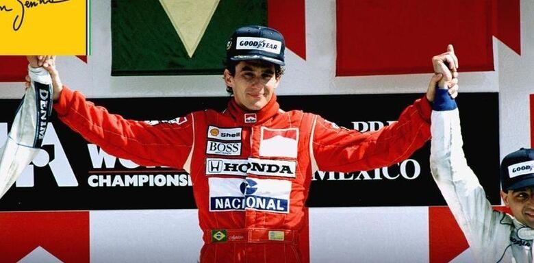 Senna morreu em 1993 - Crédito: Divulgação/Facebook
