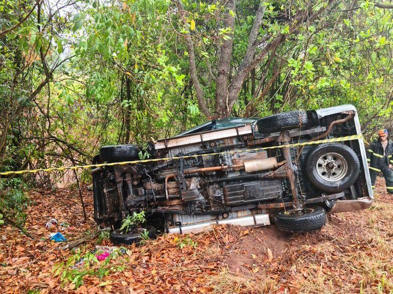Major da PM morre em capotagem de veículo na MS-080 -