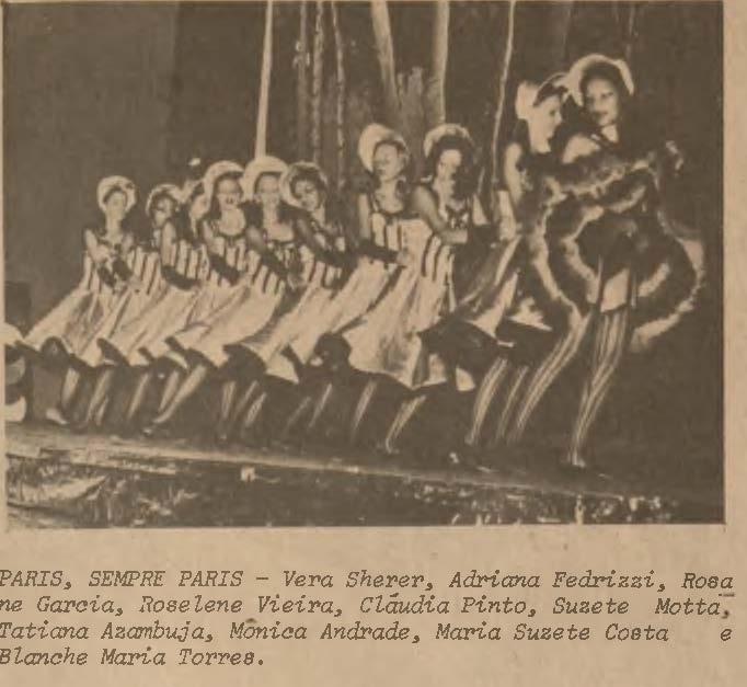 Festival de Ballet também  marcou época em Dourados - Crédito: Fotos: reprodução/O Progresso