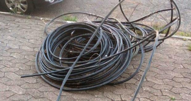 Cresce furto de fios em Dourados - Crédito: Ilustração