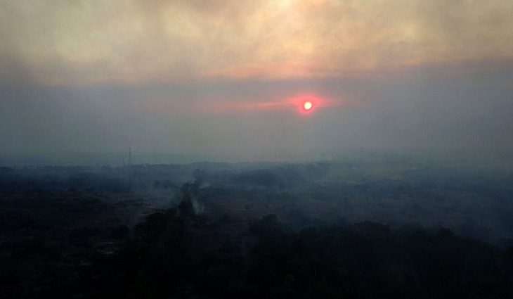 Combate intenso e chuva extinguem maioria das queimadas, mas Estado mantém vigilância da área - Crédito: Chico Ribeiro