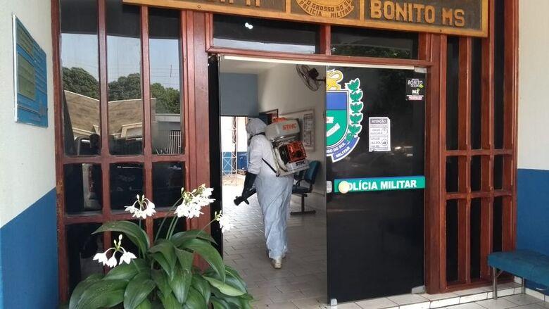 Sobe para 17 o número de policiais militares infectados por Covid-19 em cidade turística de MS - Crédito: Polícia Militar/Divulgação