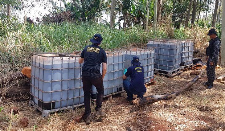 Tecnologia da Iagro auxilia em operação conjunta para apreensão de agrotóxicos irregulares em MS - Crédito: Divulgação