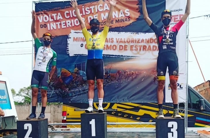 Beneficiário do Bolsa Atleta, sul-chapadense é campeão geral da Volta Ciclística do Interior de Minas - Crédito: Divulgação