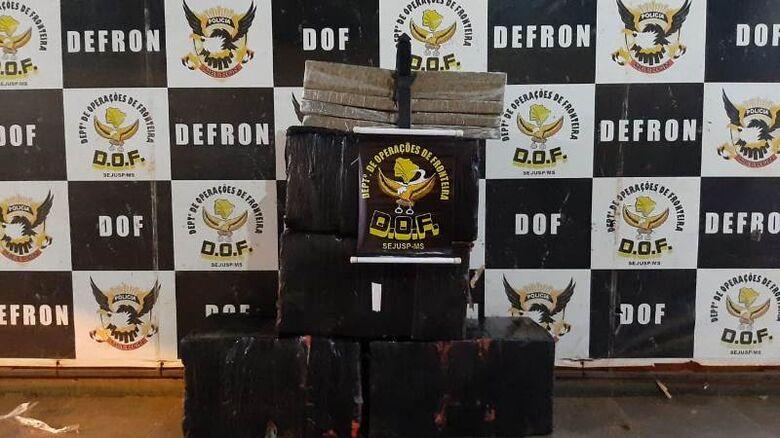 A droga seria entregue na cidade de Ivinhema - Crédito: Divulgação/DOF