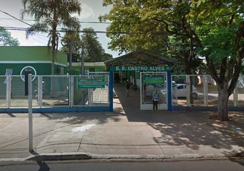 Escola Estadual Castro Alves - Crédito: Divulgação