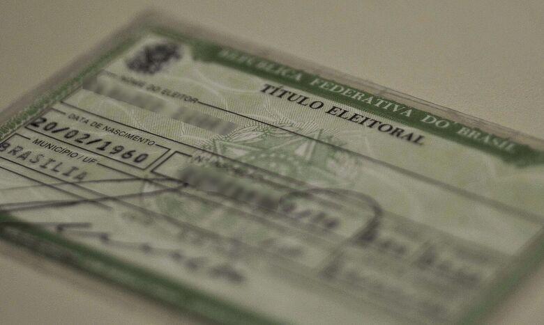STF confirma não ser obrigatório portar título de eleitor para votar - Crédito: Arquivo/Marcello Casal Jr/Agência Brasil