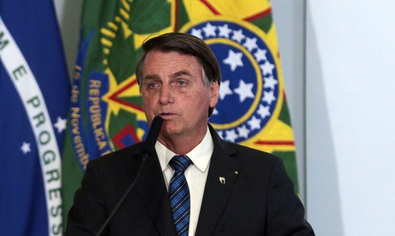Bolsonaro participa da abertura de fórum econômico com países árabes - Crédito: Valter Campanato/Agência Brasil