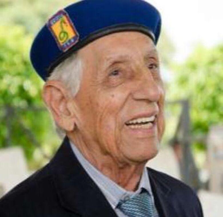 Veterano da 2ª Guerra Mundial, Isidoro Teodoro da Silva, morre aos 95 anos, na Capital - Crédito: FEB/Divulgação