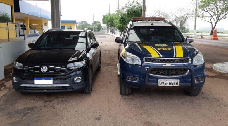 Em ação conjunta com a Polícia Civil, PRF desmantela quadrilha que transportava veículos para Bolívia -