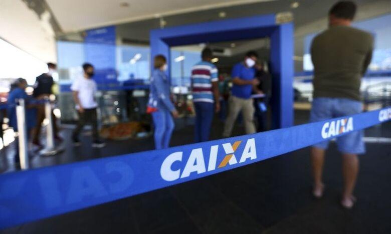 Agência da caixa abre neste sábado (21) para saque do auxílio e FGTS - Crédito: Marcelo Camargo/Agência Brasil