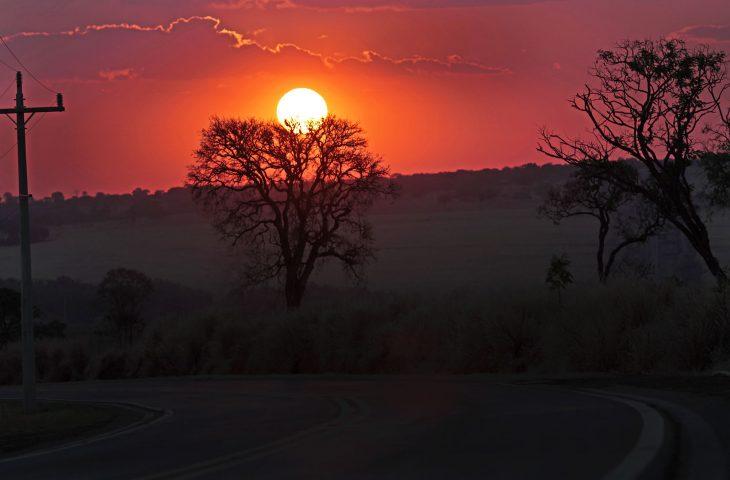 Final de semana de tempo firme e baixa umidade relativa do ar -