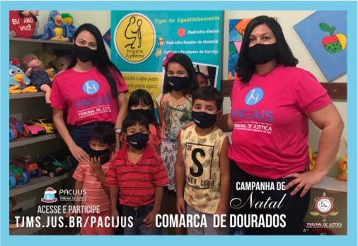 Dourados tem 45 cartinhas de crianças e adolescentes na Campanha de Natal do Pacijus -